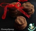 Шоколадно-гречневое печенье