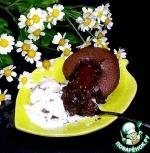 Шоколадный фондан из рисовой муки