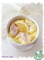 Лимонное суфле из рикотты