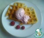 Мягкое малиновое мороженое