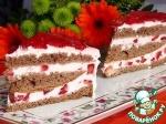 Клубничный торт с желе