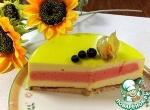 """Торт """"Лимонно-клубничный"""""""