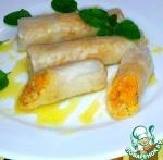 Роллы из рисовой бумаги с рисом, курагой и мёдом