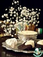 Шоколадно-кофейные блинчики с соусом