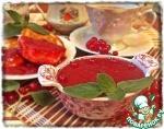 Смородиновый соус с мятой