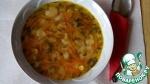 Постный овощной суп