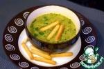 Постный тайский суп со шпинатом