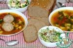 Суп из нута с кюфтой