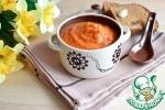 Овощной суп на томатном соке