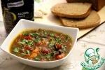 Фасолевый суп с тыквой