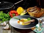 Суп из утки с овощами и диким рисом