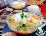 """Суп куриный с цветной капустой """"Богатырское здоровье"""""""