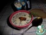 Суп с белой фасолью и грибами