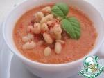 Суп из белой фасоли с томатами