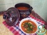 "Оливковая тарелка ""Таджин зитун"""