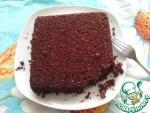 Постный овсяно-шоколадный кекс