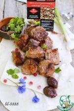 Шашлык из свинины с красной смородиной и сливой гриль