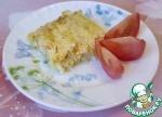 Капустный пирог с рыбой диетический