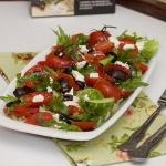 Овощной салат с баклажанами-гриль