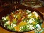 Салат из тофу и солёных яиц